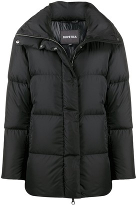 Duvetica High-Neck Down-Padded Jacket