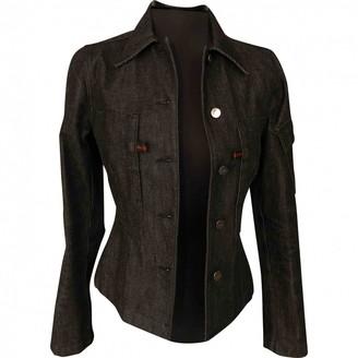 Gucci \N Black Denim - Jeans Jackets