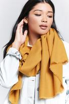 Forever 21 Frayed Oblong Scarf