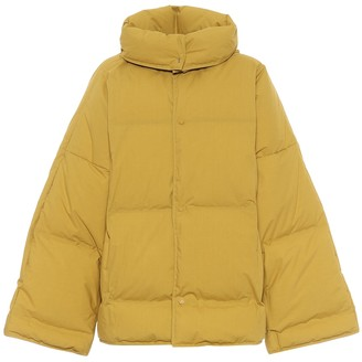 Bottega Veneta Cotton poplin down jacket
