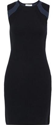 Vince Stretch-knit Mini Dress