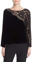 Plenty by Tracy Reese Lace Combo Tee