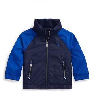 Ralph Lauren Colour-Blocked Hooded Jacket