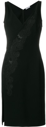 Versace Lace Insert Dress