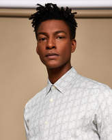 Ted Baker Phormal geo print cotton shirt