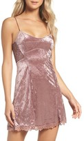 Free People Women's Intimately Fp Velvet Chemise