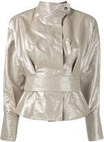 Isabel Marant military jacket - women - Cotton/Linen/Flax - 36