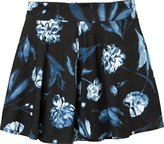 RVCA Junior's Indiee Skater Skirt
