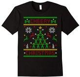 Kids Cheery Christmas Chearleader Cheering Ugly Christmas Sweater 6