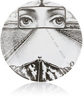 """Fornasetti Driving Down Road"""" Plate"""