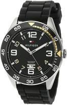 Tommy Hilfiger Men's 1790978 Cool Sport Aluminum Bezel and Dial Watch
