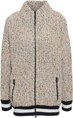 Brunello Cucinelli Cotton-blend Turtleneck Cardigan