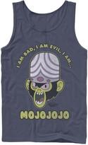 """Licensed Character Men's Cartoon Network Mojo Intro """"I Am Bad, I Am Evil, I Am... MOJOJOJO"""" Tank"""