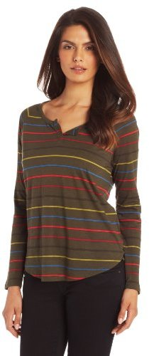 Chaus Women's Long Sleeve Double Line Top