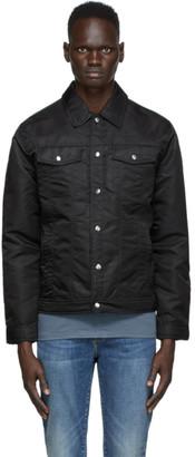 Frame Black Nylon Trucker Jacket