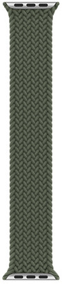 Apple 44mm Inverness Green Braided Solo Loop - Size 6