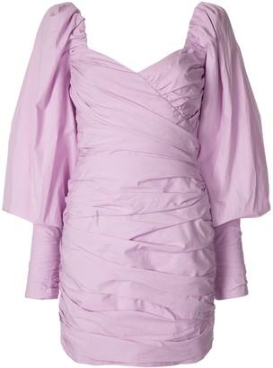 Bec & Bridge Winslowe ruched mini dress