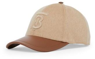 Burberry Cashmere Baseball Cap