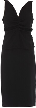 Givenchy Ruched Peplum Dress