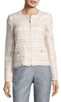 Karl Lagerfeld Textured Tweed Blazer