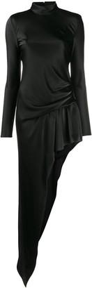 Alexander Wang Asymmetric Draped Maxi Dress