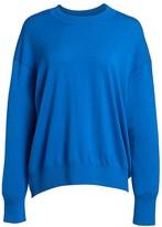 St. John Extra Fine Merino Wool Knit Pullover Sweater