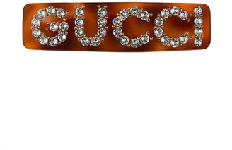 Gucci Crystal single hair barrette