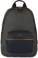 Paul Smith Leather & nylon backpack