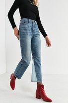 BDG High-Rise Inset Wide-Leg Jean