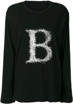 Yohji Yamamoto B sweatshirt