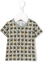 Gold / Toyo Enterprise - cat print T-shirt - kids - Cotton - 3 mth