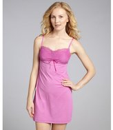 Cosabella orchid stretch lace detail chemise