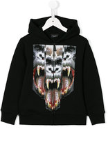 Marcelo Burlon County Of Milan Kids - printed hoodie - kids - Cotton/Polyester - 4 yrs
