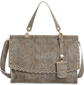 GUESS Andie Top Handle Flap Satchel