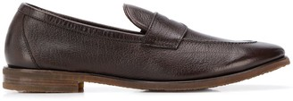 Henderson Baracco Embossed Moccasin Loafers