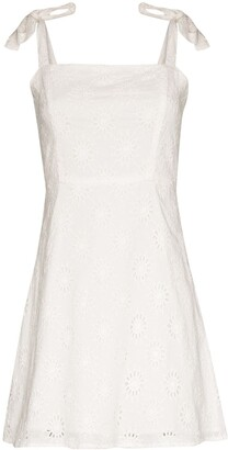 HONORINE Poppy broderie anglaise mini dress