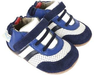 Robeez 'Everyday Ethan' Crib Shoe