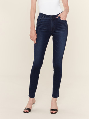 Paige Verdugo Mid Rise Skinny Ankle Jeans
