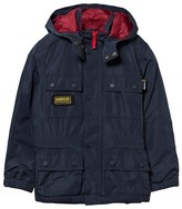 Barbour Navy International Nyloc Waterproof Jacket