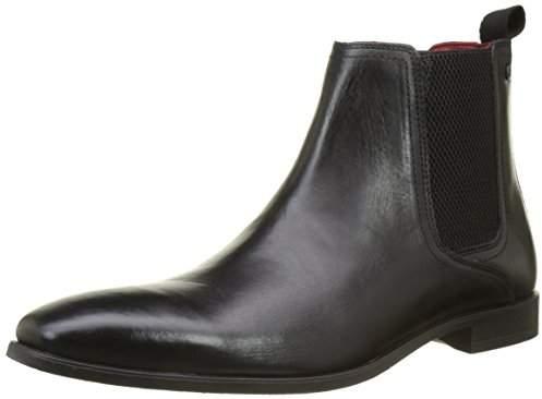 Base London Men's Guinea Chelsea Boots Black Size: