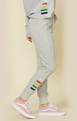 Sundry Tapered Sweatpants W/ Inset Side Stripes