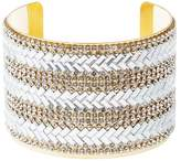 Charlotte Russe Plus Size Embellished Chevron Cuff Bracelet