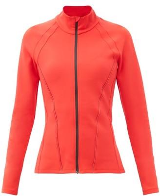 Ernest Leoty Roxane High-neck Soft-shell Jacket - Red