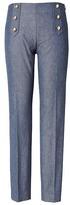 Banana Republic Sloan Skinny-Fit Sailor Pant
