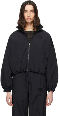 Alexander Wang Black Nylon Zip Jacket
