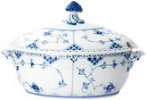 Royal Copenhagen Fluted Half Lace Covered Porcelain Tureen