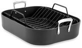 Bed Bath & Beyond All-Clad® B3 Hard Anodized Solid Aluminum 16-Inch x 13-Inch Roaster with Rack