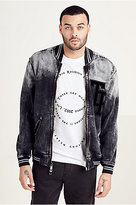 True Religion Decayed Tr Mens Bomber Jacket