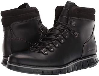 Cole Haan Zerogrand Hiker WP (Waterproof Black Leather/Black) Men's Shoes