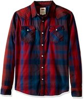Levi's Men's Carly Long Sleeve Western Flannel Woven